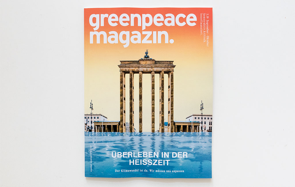 Greenpeace Magazin Climate Change Cover Glandien