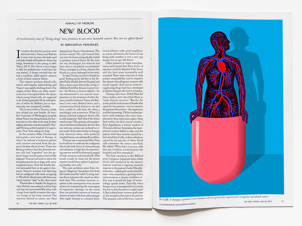 Living Drugs for The New Yorker by Alexander Glandien