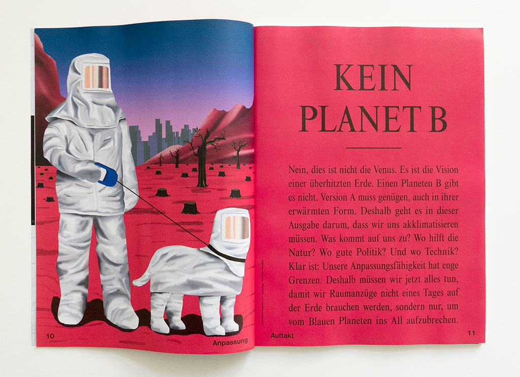 Greenpeace Magazin Climate Change opener Planet B Glandien