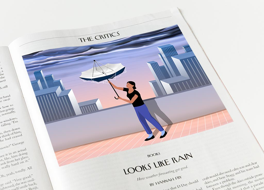 Weather Forecast for The New Yorker by Alexander Glandien